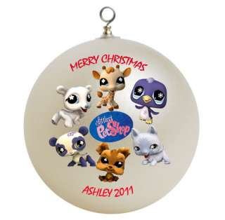 Personalized Littlest Pet Shop Christmas Ornament Gift