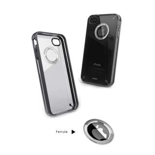 Aprolink Swarovski Crystal Classic Black iPhone4S iPhone 4S Case