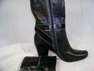 MATISSE Katherine Black Leather Size 8 Boots Womens NEW Shoes $159