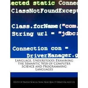and Programming Languages (9781241608910) Beatriz Scaglia Books
