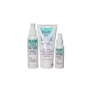 Hair Inhibitor 2 Step System (Hair No More Cream, Spray & Gel) Health