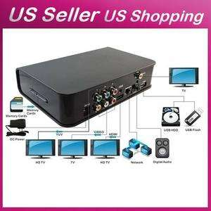 Full HD 1080P HDMI Google Android 2.2 WIFI Media Player Internet TV