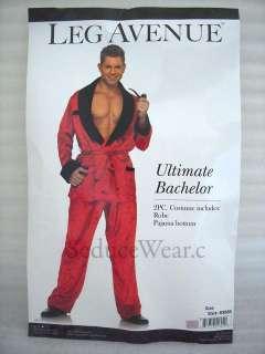 Ultimate Bachelor Hugh Hefner Mens Halloween Costume