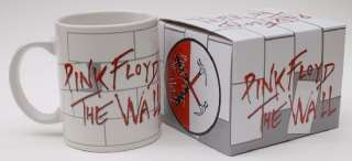 Pink Floyd Official Ceramic Coffee Cup Mug Gift Box New