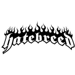 10 Hatebreed black vinyl decal cut decal sticker for any