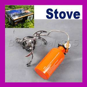 Outdoor Camping Stove Multi Use Fuel Backpacking Cook