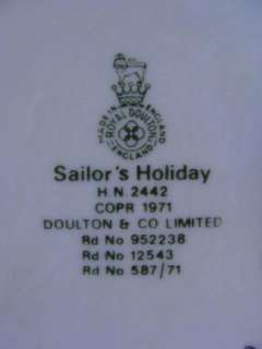ROYAL DOULTON SAILORS HOLIDAY FIGURINE HN2442