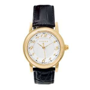 Cross Chicago Collection Mens Embossed Leather Watch