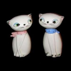 Vintage Holt Howard Cozy Kitten Cat Range Salt Pepper