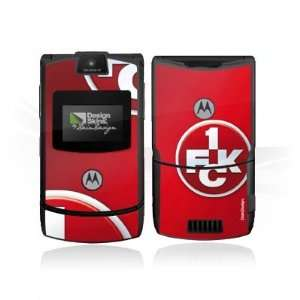 Design Skins for Motorola RAZR V3   1. FCK Logo Design