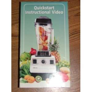 Vita Mix QUICKSTART INSTRUCTIONAL VIDEO VHS Everything