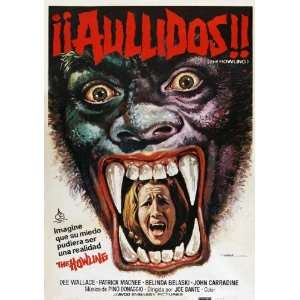 Howling Poster Movie Spanish 11 x 17 Inches   28cm x 44cm Dee Wallace