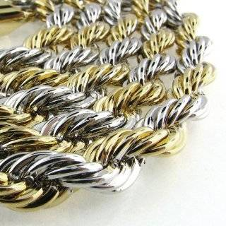 THICK ROPE RUN DMC DOOKIE HIP HOP CHAIN NECKLACE Jewelry