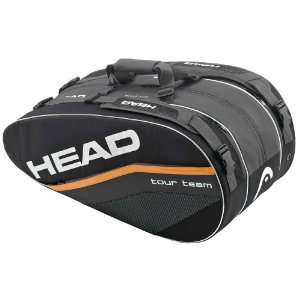 Head 12 Tour Team Monstercombi Black/Orange Sports