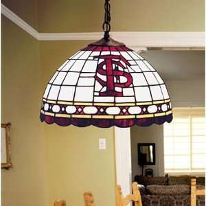 NCAA Stained Glass Hanging Ceiling Lamp