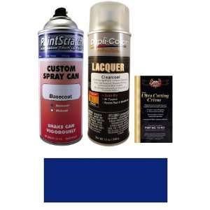 12.5 Oz. Dark Blue Metallic Spray Can Paint Kit for 1987 Honda Accord