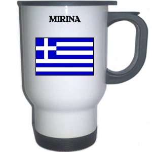 Greece   MIRINA White Stainless Steel Mug: Everything