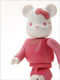 Be@rbrick 100% Bearbrick Series 18 Hello Kitty SECRET Version
