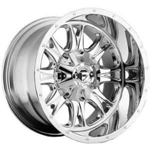 Fuel Throttle 20x12 Chrome Wheel / Rim 5x150 with a  31mm Offset and a