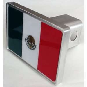 Mexican Flag Hitch Cover