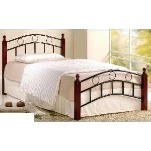 Walker Edison Attractive Twin Wood Loft Bed With Desk In