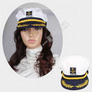 captain navy marine sailor hat cap party