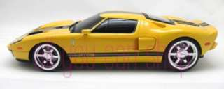 18 118 Scale RC Radio Remote Control Ford GT yellow