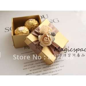 wedding favor gift party ribbon f box 100pcs/lot 100pcs