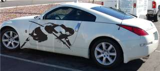 SEXY ANIME 350Z RX 8 GM INTEGRA CAR VINYL GRAPHICS 74