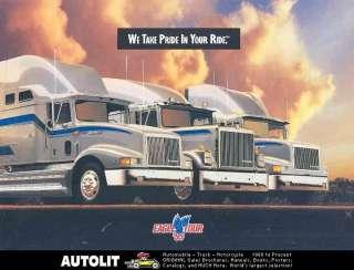 1995 International Eagle Truck Tour Brochure