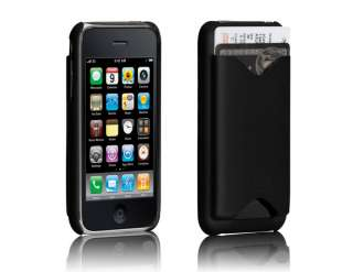 Case Mate iPhone 4 4S S ID Credit Card Wallet Case Cover Black FAST