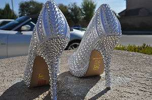SWAROVSKI CRYSTAL HIGH HEELS Wedding shoes