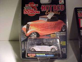 Chevrolet Hot Rod Racing Champions 1/64 Diecast Limited