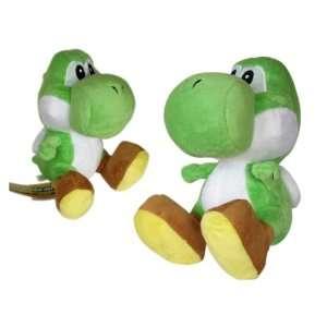 Yoshi Plush   Nintendo Super Mario Yoshi Plush (10in) Toys & Games