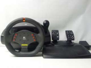 Logitech Momo Force Racing Wheel & Pedal Set Pc Acc
