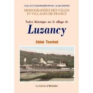 luzancy (notice historique sur le village de