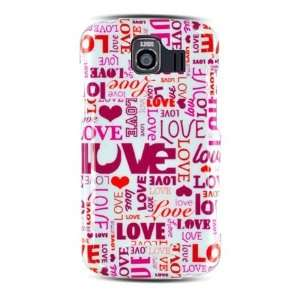 Lovely Love Designer Hard Cover Case for Sprint LG Optimus