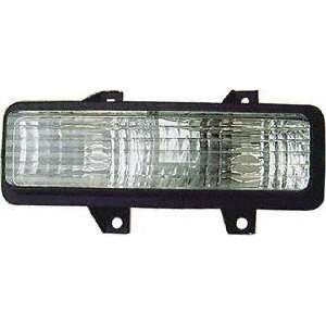 89 91 GMC JIMMY PARKING LIGHT RH (PASSENGER SIDE) SUV, Below Dual Head