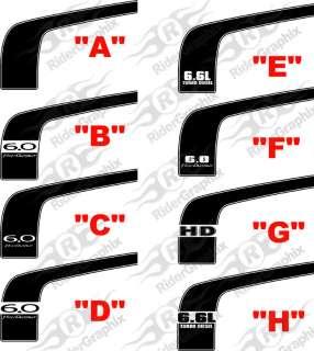 2003 2006 Chevy Silverado Classic Hockey Stripes Kit