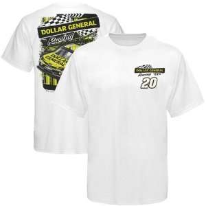 Chase Authentics Joey Logano Draft T Shirt   White Sports
