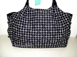 New Kate Spade Stevie Classic Noel Large baby diaper Bag Handbag tote