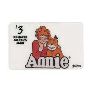 Collectible Phone Card $3. Little Orphan Annie & Dog
