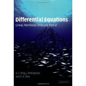 Differential Equations Linear, Nonlinear, Ordinary