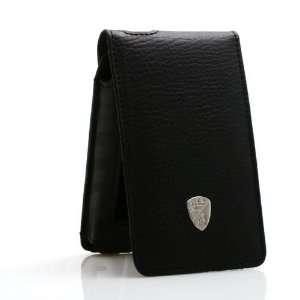 Lamborghini Black Leather Cover Case for Apple iPhone 3G