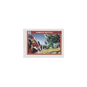 Universe Series I (Trading Card) #121   Iron Man vs. Titanium Man