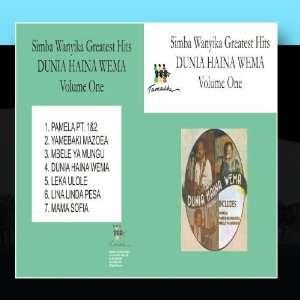 Dunia Haina Wema: Simba Wanyika: Music