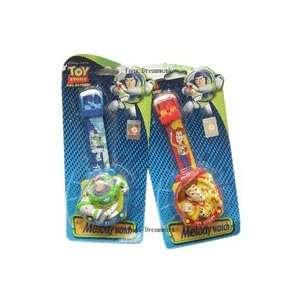 Disney Toy Story Woody & Buzz watch / Music watch (2 pc