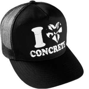 BONES Wheels I Heart Concrete Trucker Hat  Sports