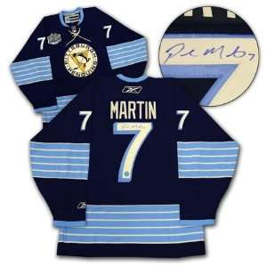 Paul Martin Signed Jersey   2011 WC   Autographed NHL