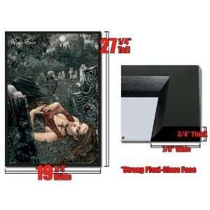 Framed Vampire Poster Victoria Frances 3D Lenticular